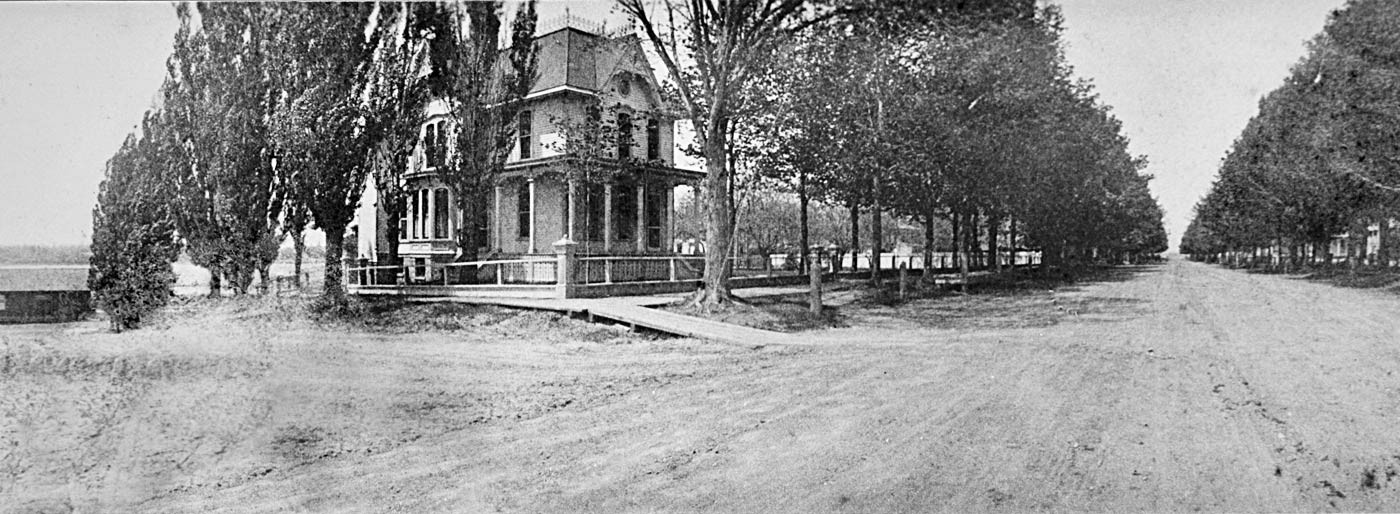 The Lewis House old photo