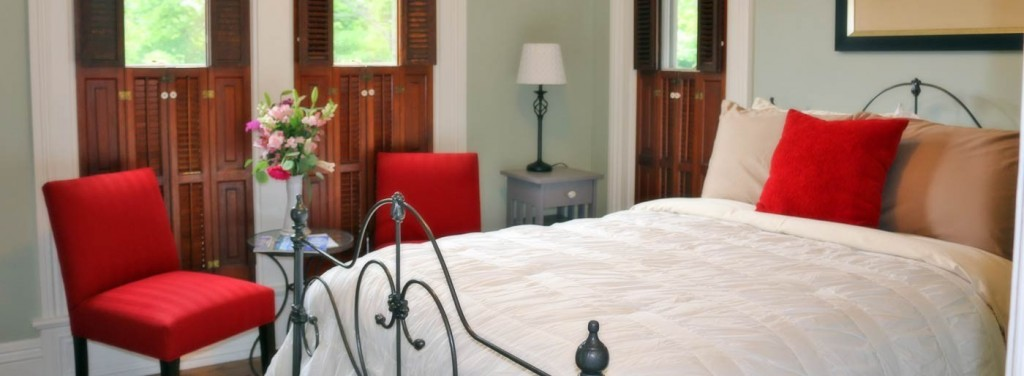 Guest Room at Lewis House, a luxurious Whitehall, Michigan B&B